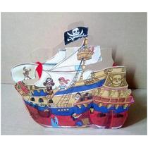 Centros De Mesa Barcos Piratas Centros Dulceros Infantiles