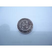 Raridade - Moeda Antiga 50 Réis 1886 Império - Tenho Outras.
