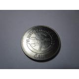 Moneda Grande Colombia $5 1971 Juegos Panamericanos Cali *