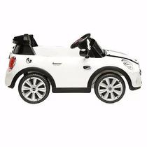 Mini Cooper Blanco A Bateria 6v