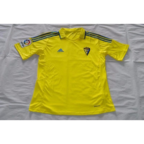 16-17 Cadiz Home De Fútbol Cosas Soccer Jersey Shirt