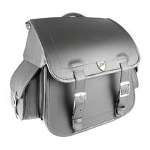 Alforge Traseiro (bolsa) Custom 50 Litros Em Couro Liso