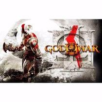 Manual De Intruções Jogo God Of War 3 Ps3 Seminovo Original
