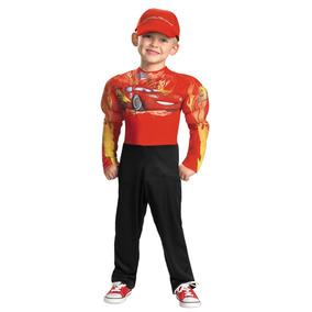 Disfraz Rayo Mcqueen Cars 2 C/ Musculos Original