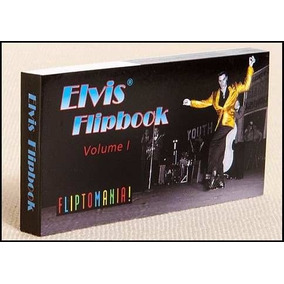Juguete Flipbook Elvis Volumen 1