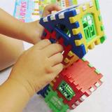 176 Bloques Bricks Para Niños Ladrillos Arma Casa Didactico