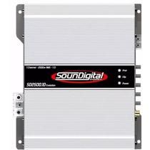 Amplificador Soundigital Sd 2500.1 - 2500w Rms 1 Canal