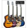 Guitarra Acústica California Original Importada + Accesorios