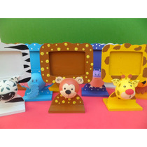 Portarretrato Souvenirs Con Animales De La Selva En 3d!!!