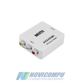 Adaptador Convertidor Rca A Hdmi Con Audio Y Video