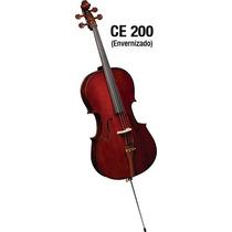 Violoncelo / Cello 4/4 Eagle Ce 200 Completo(capa,arco,breu)