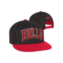 Chicago Bulls Adidas Pinstripe 9fifty Snapback Jordan Nba