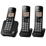 Telefone S/ Fio Panasonic Kx-tgc353 Base+2 Ramais