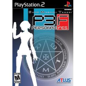Shin Megami Tensei Persona 3 Fes - Ps2 - Original