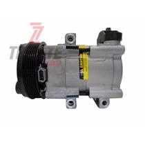 Compressor Ar Condicionado Ford F250 Diesel Polia 6pk 126mm