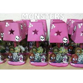 Lamparas Infantiles Monsters High Centros De Mesa Infantil