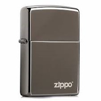 Isqueiro Zippo - Black Ice W/z Logo 150zl
