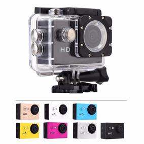 Camera Filmadora Hd 1080p Sport Stand Up Prova Dagua Mini Dv