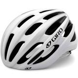 Capacete Giro Foray Bike Speed Tri Tt Branco Tam M