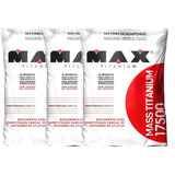 Combo Mass Titanium 17500 - 9kg - Max Titanium