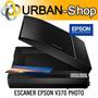 Escaner Epson V370 Restaura Fotos Documentos Libros