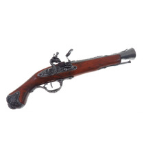 Dx1219 Denix Replica Pistola Polvora Negra Blunderbuss 1800