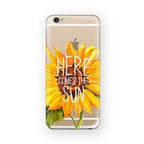 Funda Girasol Here Comes The Sun Tpu Para Iphone 5c