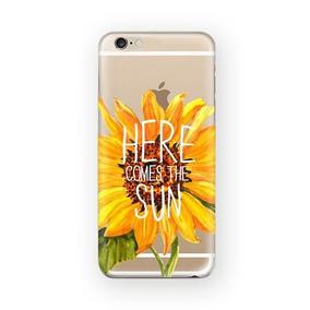 Funda Girasol Here Comes The Sun Tpu Para Iphone 5c