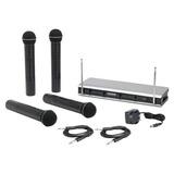 Microfonos Inalambricos Samson V466 Quad 4 Microfonos