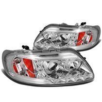 Faros Lupa Led Ford Ojo Angel F150 Lobo 2000 2001 2002 2003