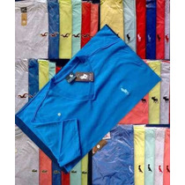 Kit C/ 10 Camiseta Gola V Masculina Varias Marcas Atacado