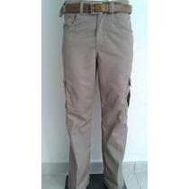 Paquete De 5 Pantalones Tipo Cargo De Gabardina