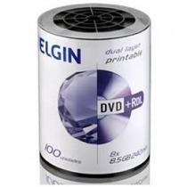 100 Dl Elgin Umedisc 8.5gb 8x Printable(nao Grava Jogos)