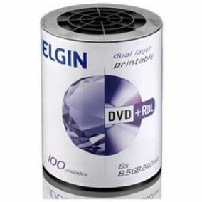 100 Dl Elgin 8.5gb 8x Print. Id Umedisc ( Nao Jogos)