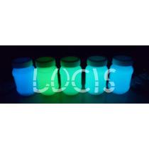 Pintura Fosforescente Fotoluminiscente Neon Glow Permanente