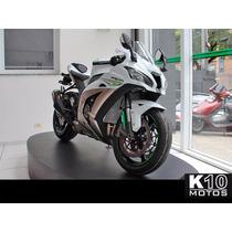 Kawasaki Ninja Zx-10r Branco 16/17