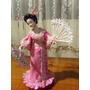Muñeca Geisha De Porcelana Fria