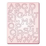Gabarito P/corte Alfabeto Maiusculo 2 Di067 Tec