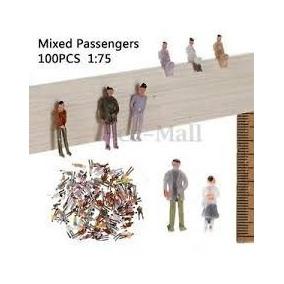 Maqueta Lote De 100 Personas Personajes Esc 1:75 O 1:64