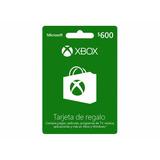 Tarjeta Xbox Live 600 - Se Envía X Email