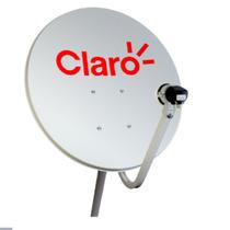 Antena Mini Parabólica 90cm Claro Tv - Century