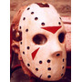 Jason Mascara Látex Halloween Terror Friday The 13th
