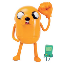 Boneco Jake Hora De Aventura + Bmo - Adventure Time - C/ Nf
