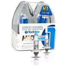 Lampada Super Branca Tech One H1 8500k Efeito Xenon
