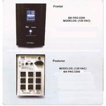 Ups Bk Pro Con Regulador De 1700 Va , 2 Años Garantia Avtek