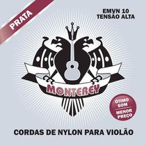 Encordoamento Monterey Violão Nylon+tarracha Pino Grosso Kit