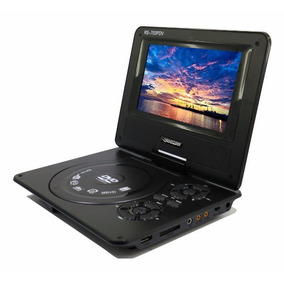 Dvd Portátil Roadstar Rs-703pdv - 7 Polegadas - Tv - Jogos -