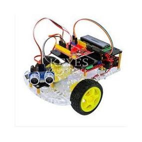 Kit Carro Inteligente De Desvio Robotica Arduino