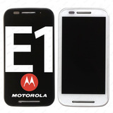 Tela Touch Display Frontal Moto E1 E 1 Xt1022 Xt1025 C/ Aro