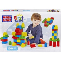 Bloques Mega Bloks 100 Pzs Construyendo Con Imaginación